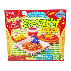 ^( ^) Kracie 可利斯 diy 餅乾~pizza 1盒 30公克~ 490155