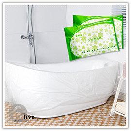 【Q禮品】B2954 一次性浴缸袋/拋棄式/浴缸膜/泡澡袋/木桶袋/水療袋/出差旅行/旅館防汙/抗菌/衛生/浴缸防汙