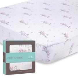 美國Aden Anais 純棉大寶寶用床單 可愛小鳥款8603