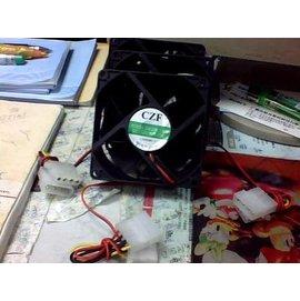 新竹市 電腦主機/機殼/case DC12V 8CM/4PIN 靜音風扇 /散熱器 **8吋**