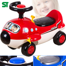 民航機學步車P072-RT608 (兒童助步車滑步車.飛機滑行車滑滑車溜溜車.腳划車四輪車.ST安全玩具.兒童騎乘可騎可坐人.腳力.推薦哪裡買)
