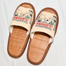 SNOOPY 史努比 室內拖鞋 竹涼鞋 帶回
