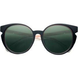 FENDI芬迪太阳镜框女正品时尚经典明星板材猫眼框百搭复古墨镜142