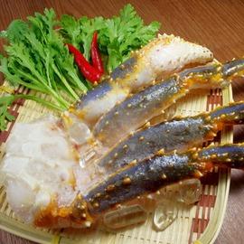 ~新鮮物語~北海道鱈場蟹腳L ^(500g^~700g 副^)蟹肉腳肉質飽滿肥厚鮮甜多汁喔
