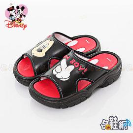 ~哈鞋網~迪士尼 Disney 米奇米妮 舒適好穿 夏日 休閒童涼鞋拖鞋 KRM46474