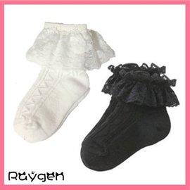 韓國春夏 全棉蕾絲 花邊鏤空 寶寶公主襪 兒童襪子【HH婦幼館】
