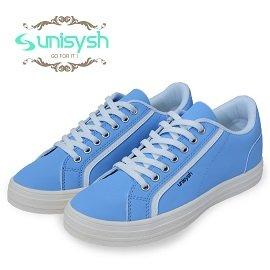 Unisysh 日系貴族風休閒鞋^(月光藍^)