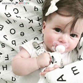 歐美卡通竹纖維嬰幼兒紗布包巾 空調被【HH婦幼館】