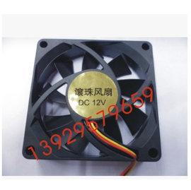新竹市 電腦CPU DC12V 7CM/3PIN 靜音風扇 /散熱器 **7CM**