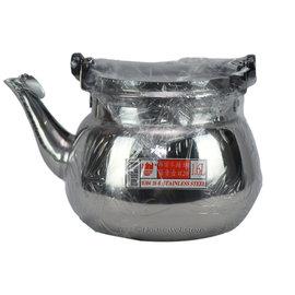 賓士笛音茶壺^(1.6L^) ☑正304^#不鏽鋼 茶壺煮開水 ~嘉順Housewell~