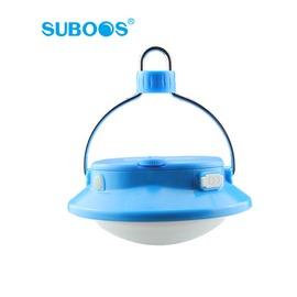 探險家露營帳篷㊣NT8509B 藍~SUBOOS薩博斯LED USB飛碟露營燈 280流明