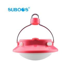 探險家露營帳篷㊣NT8509PK 粉SUBOOS薩博斯LED+USB飛碟露營燈(280流明) LED露營燈 帳棚燈 帳篷 LED燈 露營 (不含18650鋰電