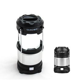 探險家露營帳篷㊣NT8806BK 黑SUBOOS薩博斯LED+USB伸縮露營燈(180流明) LED露營燈 帳棚燈 帳篷 LED燈 露營 (不含18650鋰電