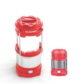 探險家露營帳篷㊣NT8806PK 粉SUBOOS薩博斯LED+USB伸縮露營燈(180流明) LED露營燈 帳棚燈 帳篷 LED燈 露營 (不含18650鋰電