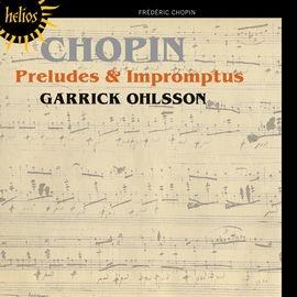 CDH55383 蓋瑞克.歐爾頌  蕭邦: 前奏曲與即興曲 Garrick Ohlsson