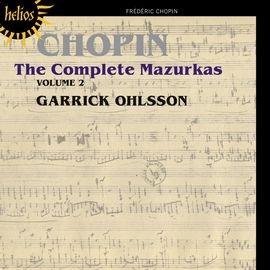 CDH55392 蓋瑞克.歐爾頌 蕭邦:馬祖卡舞曲全集 2  Garrick Ohlsso