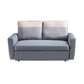 ~YC351~2~H30^#灰色布雙人沙發床^(雙扶手^)