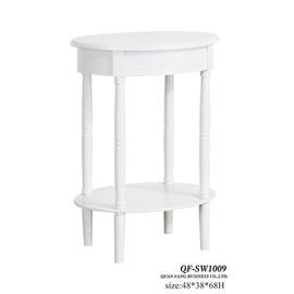 ~YC803~9~白色橢圓花架