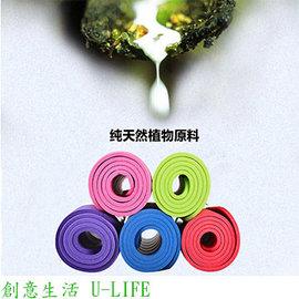 ^~  U~LIFE ^~ NBR高密度瑜珈墊 環保無毒瑜珈墊^(藍色 X 厚度10mm^
