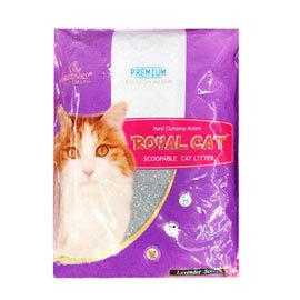 ~3包,無搬上樓服務~狗衣網~Royal Cat 皇家貓砂^(薰衣草香^) 10L