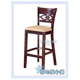 ╭~雪之屋居家 館~╯AA898~08 H5胡桃色固定式高吧椅^(布面^) 椅 櫃台椅 吧