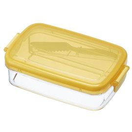 製skater附刀奶油密封儲存盒430ml 抹奶油 吐司 奶油盒 奶油罐 奶油容器 收納盒