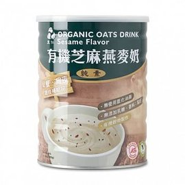 里仁 有機芝麻燕麥奶 900g 罐
