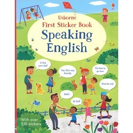 FIRST STICKER BOOK  SPEAKING ENGLISH # 超過350張