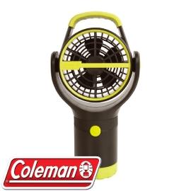 ~Coleman 美國 BATTERYLOCK杯架風扇 萊姆綠~風扇 迷你電扇 攜帶型 C