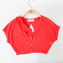 ~捷比 ~瑪瑪米雅~JMC27602~浪漫 感後開襟雙排扣短版罩衫