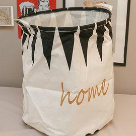 HOME 大型衣物收納 高40cm直徑50cm  可收納衣物  發售 棉床本舖