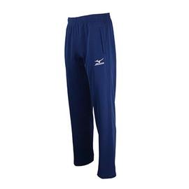 Mizuno  素色百搭輕柔舒適 針織運動套裝長褲寶藍) 32TD5A3816