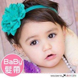 歐美時尚寶寶鏤空洞洞立體花朵髮帶 髮箍【HH婦幼館】