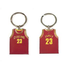 NBA官方出品 LEBRON JAMES 球衣鑰匙圈