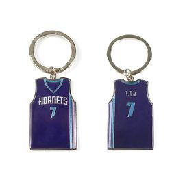 NBA官方出品 JEREMY LIN 球衣鑰匙圈 (HORNETS)