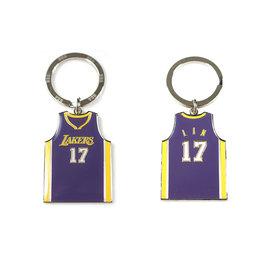 NBA官方出品 JEREMY LIN 球衣鑰匙圈 (LAKERS)
