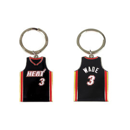 NBA官方出品 DWYANE WADE 球衣鑰匙圈