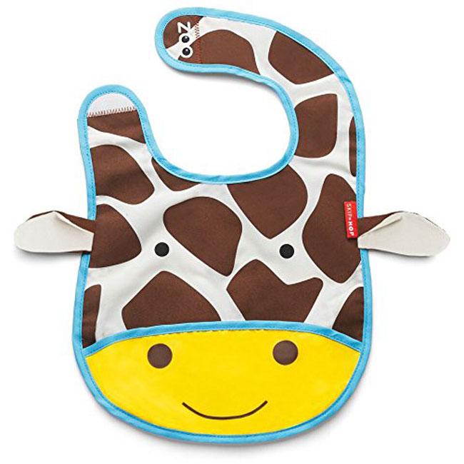 zoo可爱动物乐园代表动物人物 *围兜内置固定卷摺囊——方便出门旅行