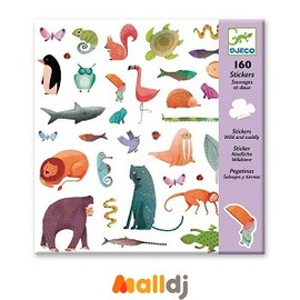 MallDJ親子 網 ~ 智荷 DJECO  貼紙系列~動物遊行 #PB816080908