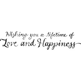 ^~貝登堡楓木印章 木頭印章 木頭章^~ 祝你有個愛與幸福的人生 C~3416