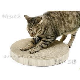 大餅抓板35號 圓型 貓抓板 ^(直徑35cm高約4cm^) ^~wellcat