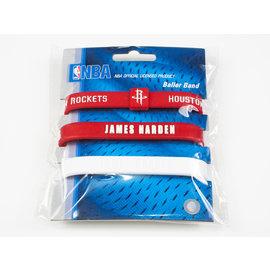 NBA官方出品 JAMES HARDEN 運動手環 (3入)