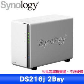 ~人言水告~Synology DiskStation DS216j 2Bay NAS 儲存