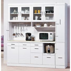 ~尚品傢俱~HY~A395~01 凱莉白色石面6.3尺餐櫃