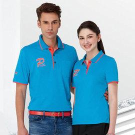 ~Londa Polo~吸濕排汗女版短袖POLO衫^(P41962^)土耳其藍色