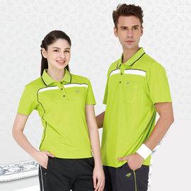 ~Londa Polo~吸濕排汗男版短袖POLO衫^(P49415^)亮綠色