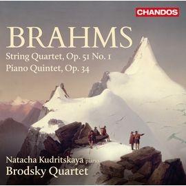 CHAN10892 布羅茲基四重奏 布拉姆斯:弦樂四重奏及鋼琴五重奏 Brodsky Qu