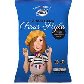 浪漫的巴黎氣氛西班牙 比達爾巴黎蘑菇奶油洋芋片120g