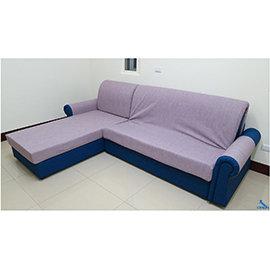 歐朋MIT客製化L型沙發床~~5尺沙發床 2.5尺電動床
