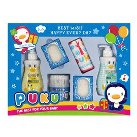 PUKU藍色企鵝沐浴保養禮盒組-D(P17917)